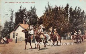 Bannock Chiefs Pocatello, Idaho, ID, USA Indian 1907