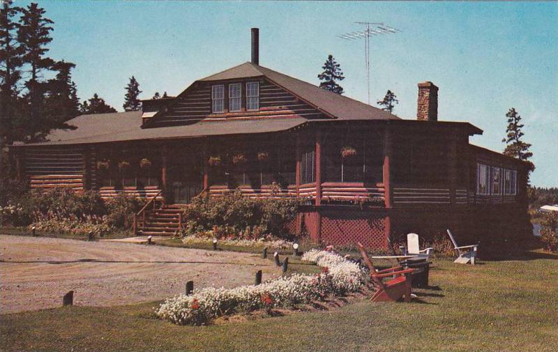Exterior, Pictou Lodge, Nova Scotia, Canada, 40-60s