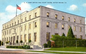 Louisiana Baton Rouge Post Office and Court House