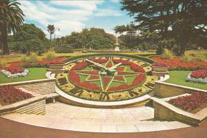 New Zealand Auckland Floral Clock Albert Park