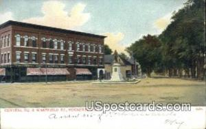 Central Square & Wakefield St Rochester NH Unused
