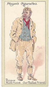 Cigarette Cards Players Characters From Dickens No 33  Rogue Riderhood