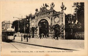 CPA  Féte Fédérale,1902 - Le Mans -Arc-de-Triomphe des Jacobins   (247761)