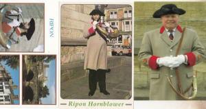 George Pickles Legendary Ripon Hornblower 3x Postcard s