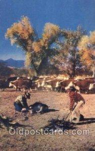 Branding Time Western Cowboy, Cowgirl Unused