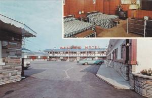 Interior and Exterior views of The Montreal West End Motel,  Montreal,  Quebe...