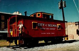 Alabama Selma City Of Selma Caboose 1982