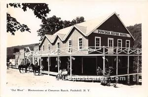 Out West, Westerntown at Cimarron Ranch Peekskill NY 1941