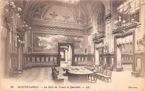 Monaco Monte Carlo La Salle du Trente et Quarante