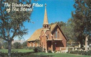 LITTLE CHURCH OF THE WEST Las Vegas, NV Marriage Chapel c1950s Vintage Postcard
