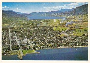 Canada Penticton Aerial View British Columbia