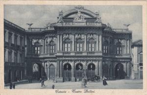 CATANIA, Sicilia, Italy, 1900-1910's; Teatro Bellini