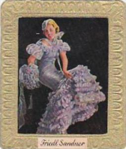 Garbaty Cigarette Card 1934 Modern Beauties No 287 Friedl Sandner