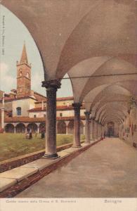 Cortile Interno Della Chiesa di S. Domenico, BOLOGNA, Emilia-Romagna, Italy, ...