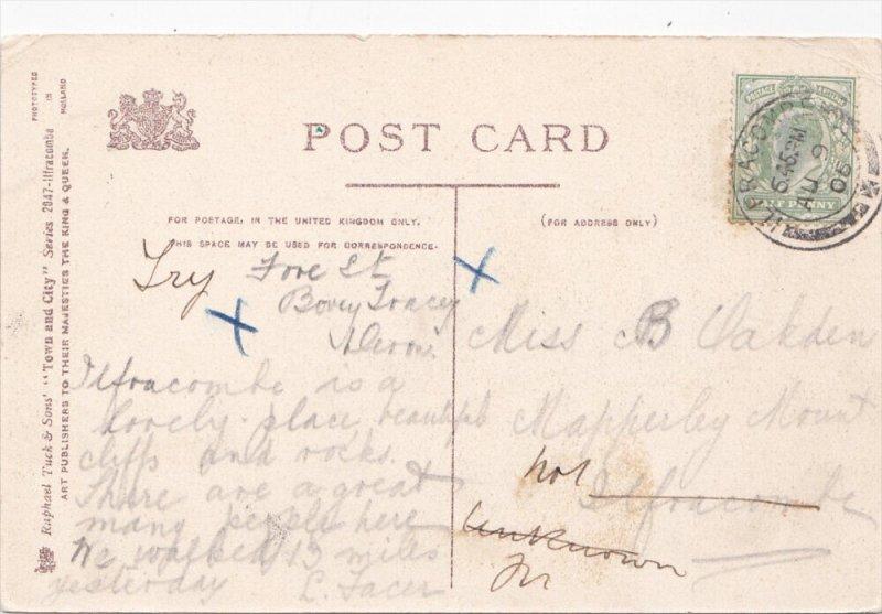 TUCK #2047: ILFRACOMBE, Devon, England, United Kingdom; Capstone Hill, PU-1906