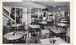 MONTREAL, Quebec, Canada, 1900-1910's; Traymore Cafeteria, Drummond Bldg.