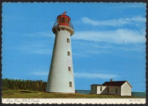 PEI Prince Edward Island ~ POINT PRIM Lighthouse built 1864 - Cont'l