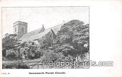 Hemsworth Parish Church Unused