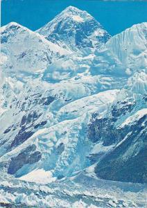 Mount Everest, Nhuptse and Lhotse, Nepal, PU-1987