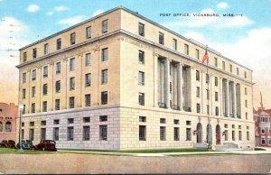 Mississippi Vicksburg Post Office 1950