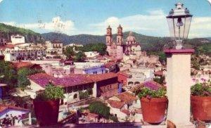 PANORAMICA DE TAXCO MEXICO DESDE EL HOTEL VICTORIA A MARK TUROK PHOTO 1964