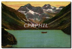 Cauterets Old Postcard Lake d & # 39Estom