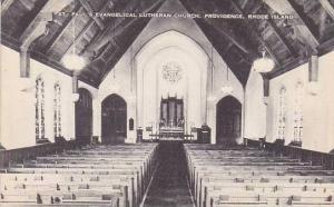 Rhode Island Providence St Pauls Evangelical Lutheran Church
