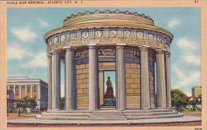 World War Memorial Atlantic City New Jersey