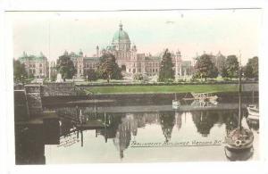 RP, Parliament Buildings, Victoria, British Columbia, Canada, 1920-1940s