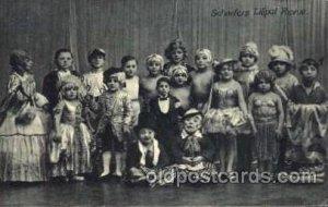 Scheuer's Liliputaner, Smallest Person, Midget, Dwarf, Circus Writing on back...