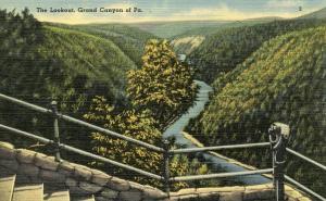 PA - Wellsboro. Grand Canyon of Pennsylvania