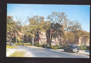 LITTLE FALLS NEW YORK BENTON HALL HIGH SCHOOL VINTAGE POSTCARD N.Y.