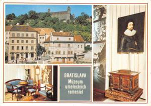 B27542 Bratislava Expozicia umeleckych remesiel Mestskeho muzea  slovakia