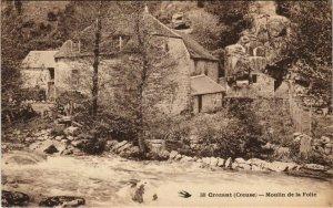 CPA CROZANT - Moulin de la Folie (121723)