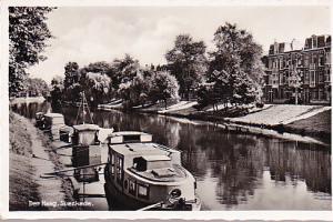 Netherlands - Den Haag, Suezkade - Canal Boats 1937