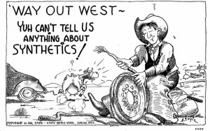 Auto Repair Comic Humor Cowboy Outwest Gloss Tone Hal Empie Postcard 20-6822