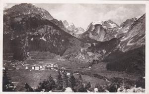RP La Savoi Pittoresque, PRAGOGNAN, Vue generale et le Massif de la Vanoise1930s