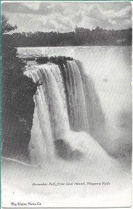 Niagara Falls, NY - Horseshoe Fall from Goat Island