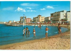 Italy, VISERBA DI RIMINI, Alberghi direttamente sul mare, 1968 used Postcard