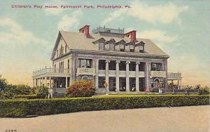 Children's Play House, Fairmount Park, Philadelphia, Pennsylvania, 00-10s