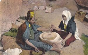 Jerusalem Women At The Mill