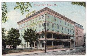 Bangor, Me, Windsor Hotel