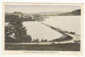 SHAKER  built bridge, Lebanon, New Hampshire, 00-10s