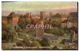 Old Postcard Luxembourg Plateau du Rham Rhamplateau