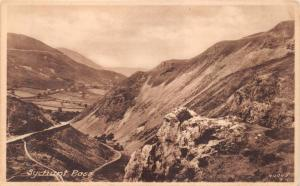 SYCHNANT (msp) PASS CONWY NORTH WALES~FRITH PUB PHOTO  POSTCARD W/ SAYING T.N.T.
