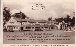 12690 Interstate Nu-Joy Restaurant & Sinclair Gas Station, Kentland, Indiana