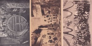 Heidelberg Mensur Hirschgasse Carcer 3x Old German Postcard s