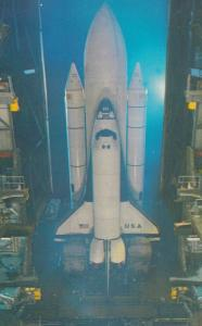 Space Shuttle , Kennedy Space Center Florida , 1980s