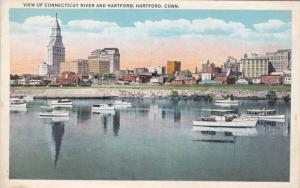 View of Connecticut River and Hartford, Hartford, Connecticut, 10-20s