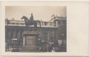 Equestrian Statue of the Duke of Wellington, London, early 1900s unused Postcard